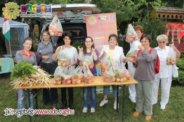 Adója egy százalékának felajánlásával segítheti, hogy minél több rászoruló kaphasson friss zöldséget és gyümölcsöt