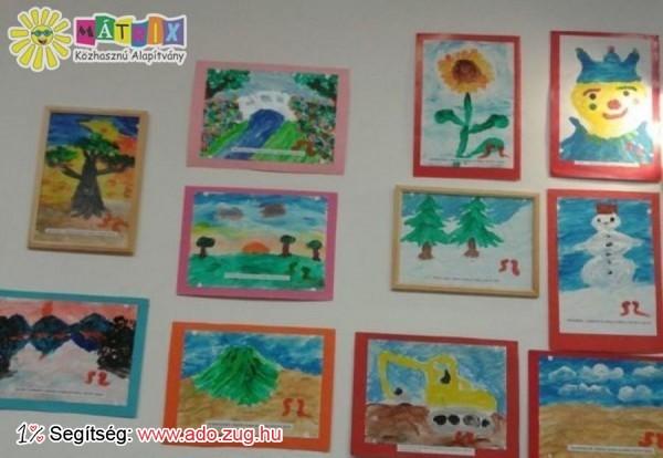 Orral festi műveit az izomsorvadásban szenvedő Sárközi Szabolcs